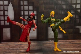 marvel legends elektra figure review -training with iron fist