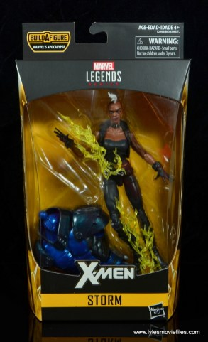 marvel legends storm figure review - package front