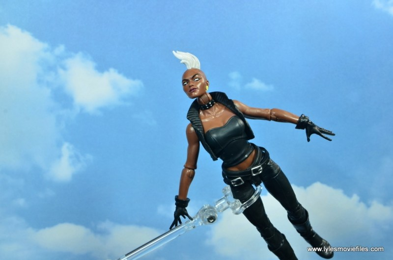 marvel legends storm figure review - soaring