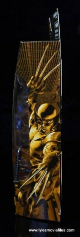 marvel legends wolverine figure review - package side