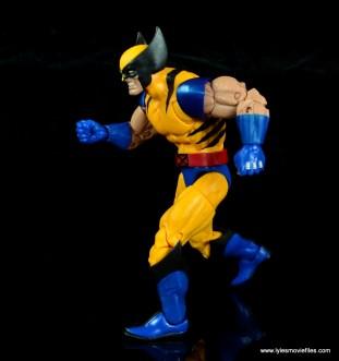 marvel legends wolverine figure review - running
