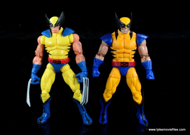 marvel legends wolverine figure review - with first hasbro wolverine