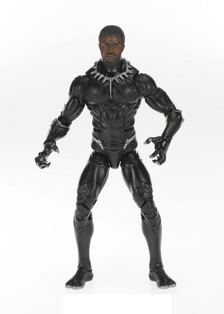 sdcc 2018 black panther marvel legends wave 2 - black panther