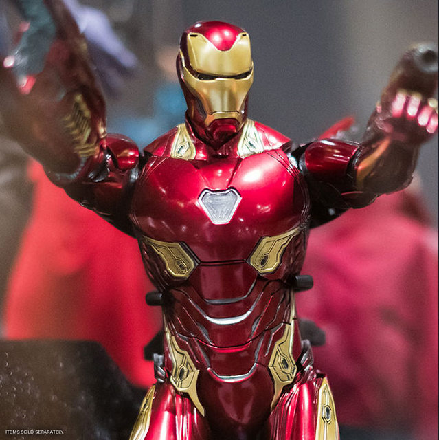 sdcc 2018 hot toys reveals -iron man mark l with nanotech