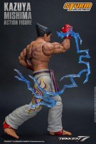 storm collectibles kazuya mishima figure - charged uppercut