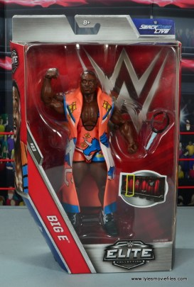 wwe elite 53 big e figure review - package front