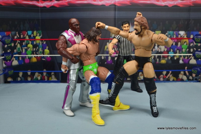 wwe elite virgil figure review -helping dibiase beat macho man