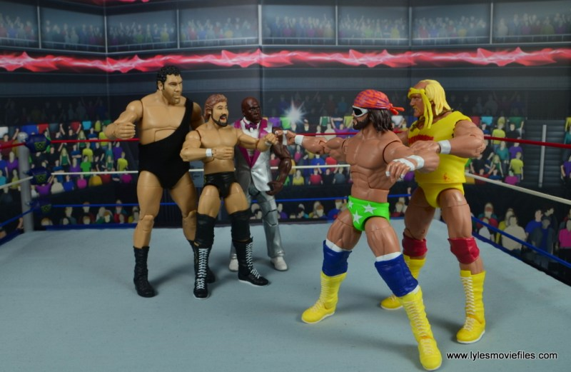 wwe elite virgil figure review -megabucks vs megapowers