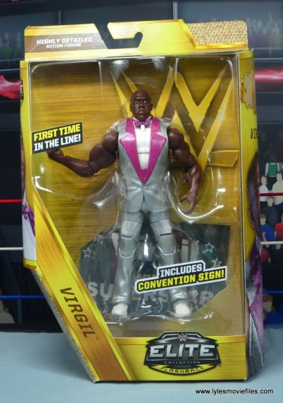 wwe elite virgil figure review -package front