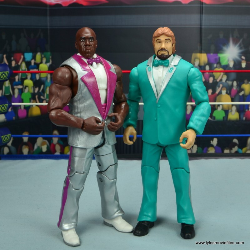 wwe elite virgil figure review -standing with ted dibiase