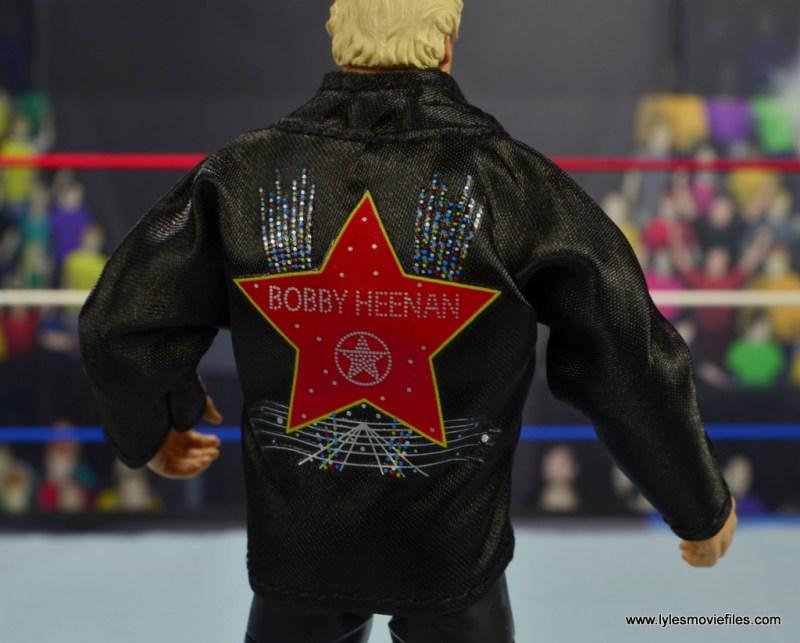 wwe fan central bobby heenan figure review - jacket detail