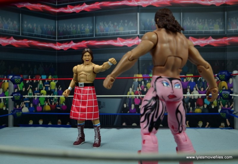 wwe hall of fame rowdy roddy piper figure review - calling out ravishing rick rude