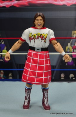 wwe hall of fame rowdy roddy piper figure review - front