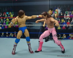 wwe hall of fame rowdy roddy piper figure review - punching rick rude