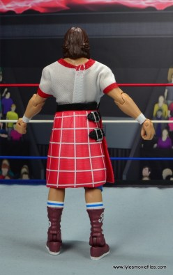 wwe hall of fame rowdy roddy piper figure review - rear