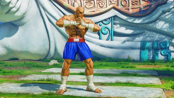 Street Fighter V Arcade Edition reveals Sagat - nostalgic costume