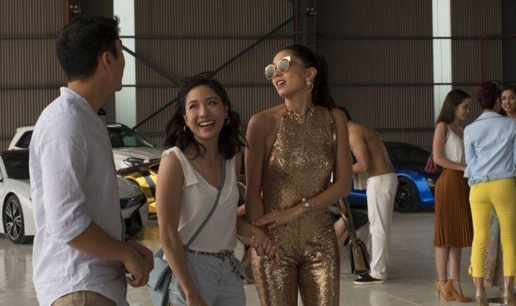 crazy rich asians 34.5 million - henry golding, constance wu and sonoya mizuno