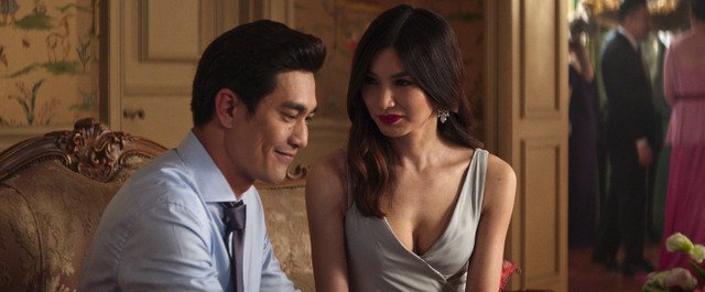 crazy rich asians movie review -pierre png and gemma chan
