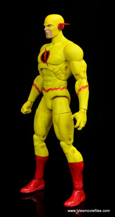 dc essentials reverse-flash figure flash - left side