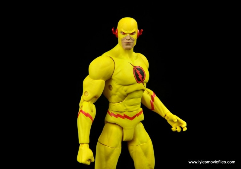 dc essentials reverse-flash figure flash - standing tall