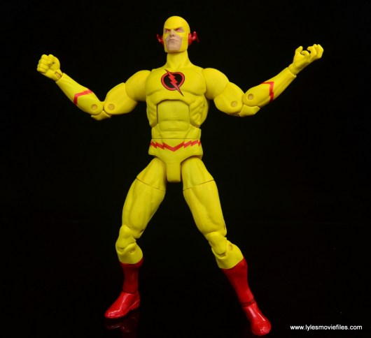 dc essentials reverse-flash figure flash - taunting