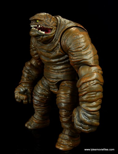 dc multiverse collect and connect clayface figure review - left side