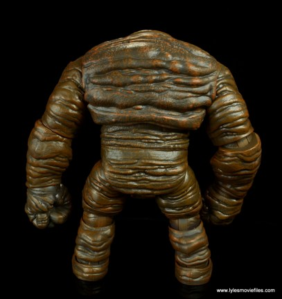 dc multiverse collect and connect clayface figure review - rear