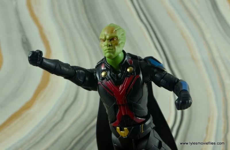 dc multiverse martian manhunter figure review - flying away
