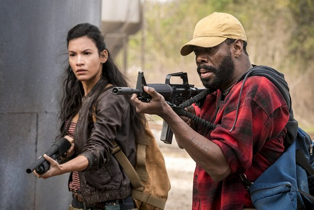 fear the walking dead another day in the diamond review - lucy and strand