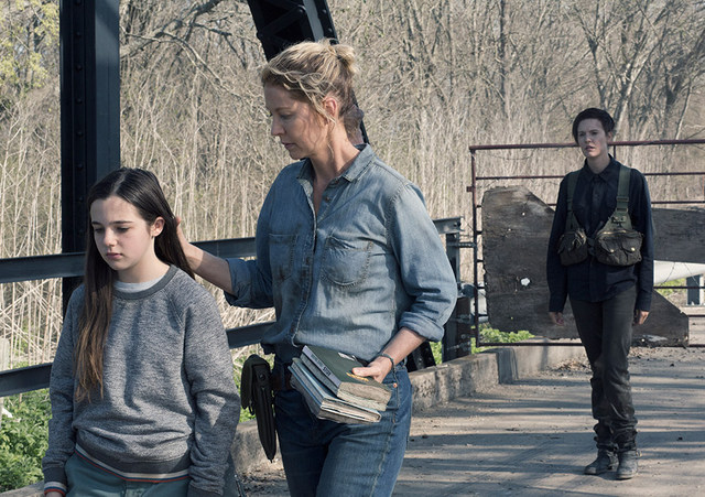 fear the walking dead people like us review -charlie, june and althea
