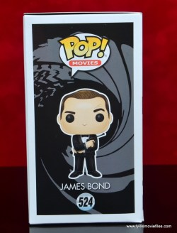 funko pop james bond figure review - package right side