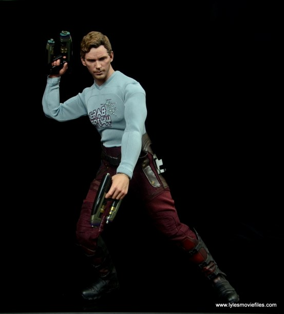 hot toys guardians of the galaxy vol. 2 star-lord figure review guns up