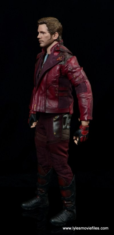 hot toys guardians of the galaxy vol. 2 star-lord figure review left side