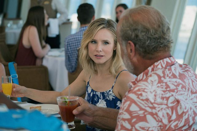 like father movie review - kristen bell and kelsey grammer