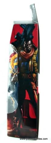marvel legends bishop action figure review - package side
