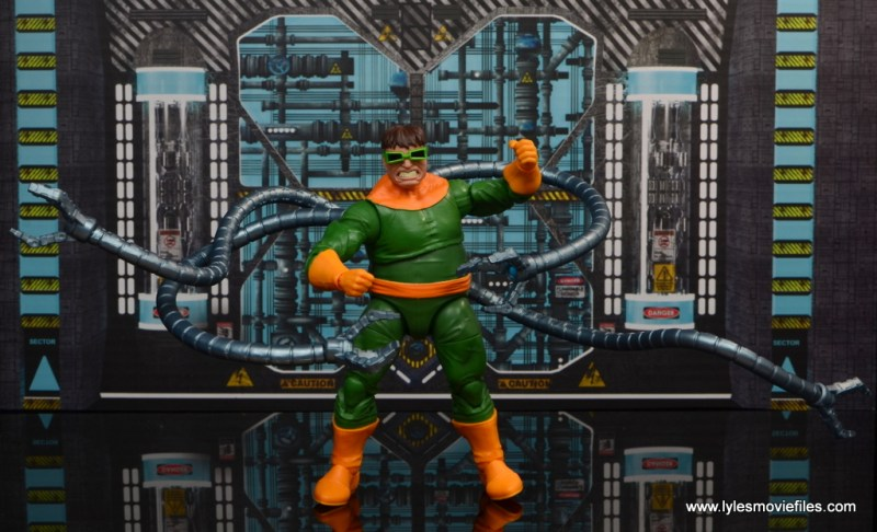 marvel legends doctor octopus figure review - wide pic with tentacles