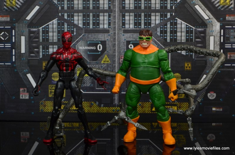 marvel legends doctor octopus figure review - with superior spider-man