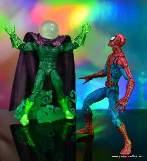 marvel legends mysterio figure review - ambushing spider-man
