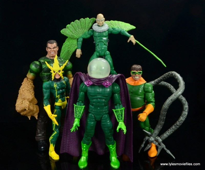 marvel legends mysterio figure review - sinister six