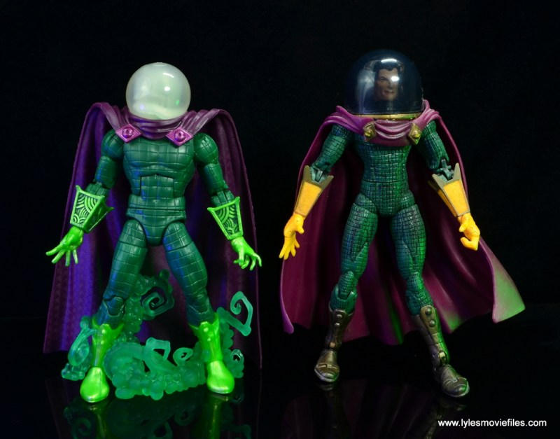 marvel legends mysterio figure review - with toy biz mysterio
