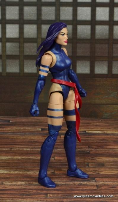 marvel legends psylocke figure review -right side