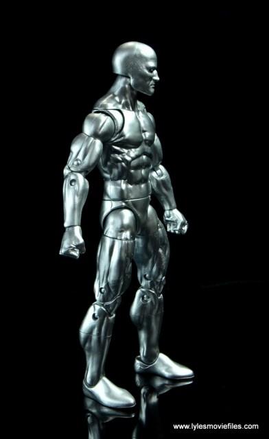 marvel legends silver surfer figure review -right side