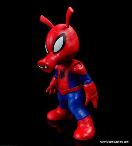 marvel legends spider-ham figure review -left side