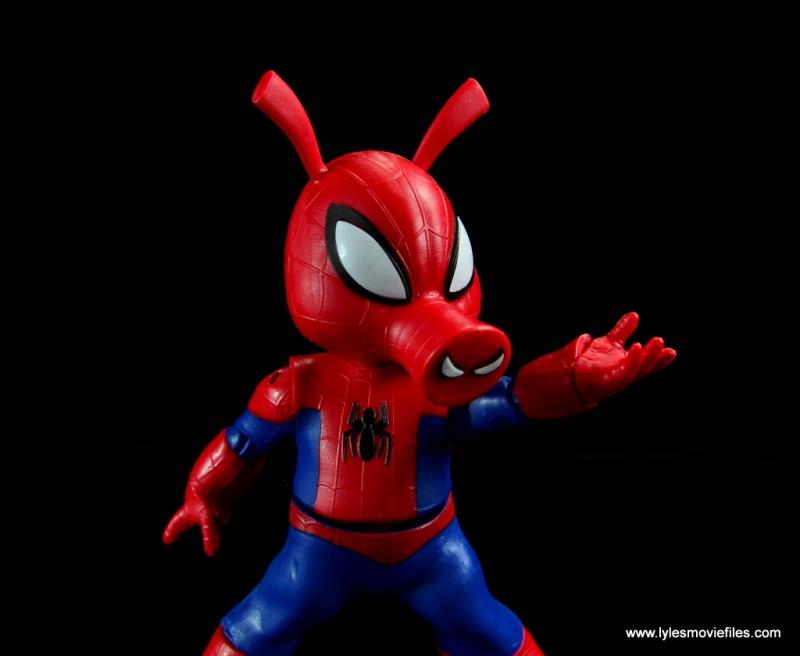 marvel legends spider-ham figure review -web slinging