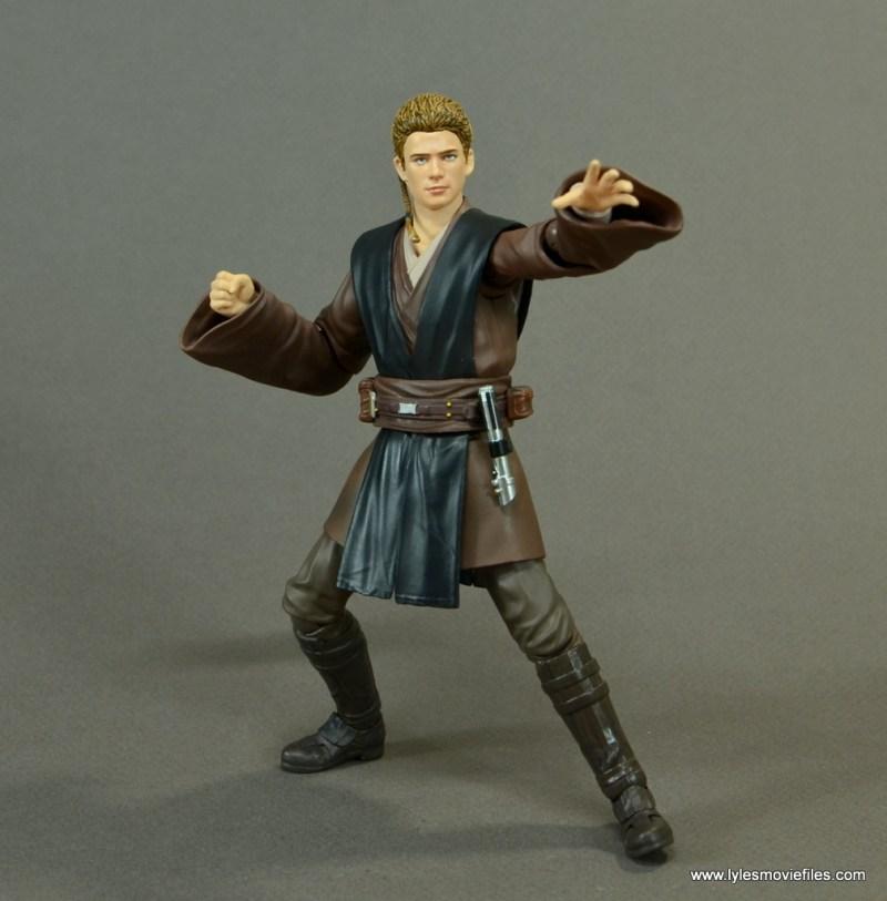 sh figuarts anakin skywalker figure review - force gesturing
