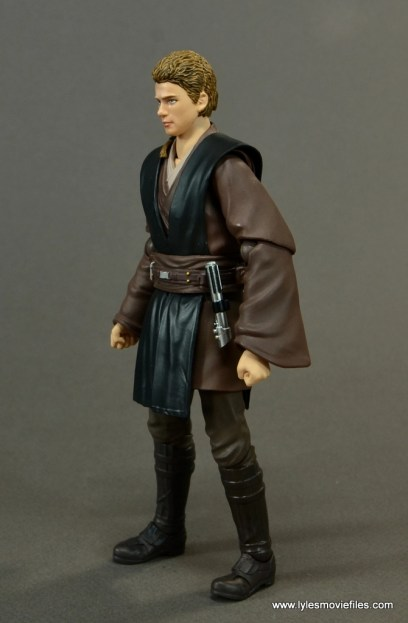 sh figuarts anakin skywalker figure review -left side