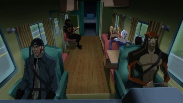 suicide squad hell to pay - rv road trip