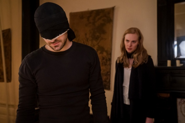 daredevil the devil you know review - matt and karen