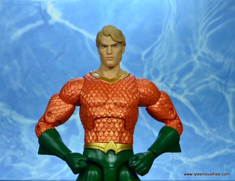 dc essentials aquaman action figure review - main pic