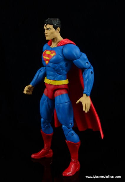 dc essentials superman review - left side